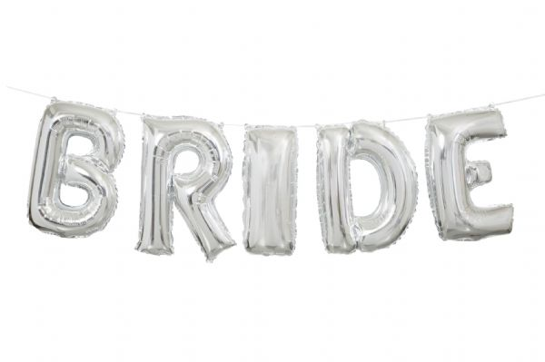 Bride Balloon Banner Kit